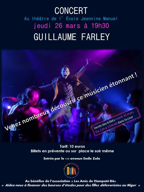 Concert guillaume farley 1